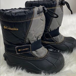 Columbia Toddler Infant Insulated Snow Rain Boots